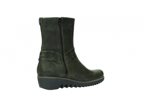 wolky mid calf boots 03823 angel cw 50732 forestgreen leather_11