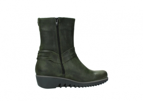 wolky mid calf boots 03823 angel cw 50732 forestgreen leather_12