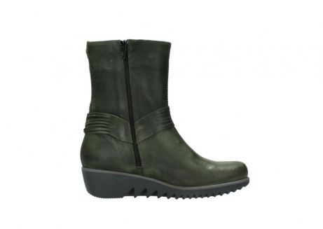 wolky mid calf boots 03823 angel cw 50732 forestgreen leather_13