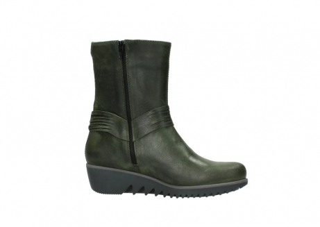 wolky mid calf boots 03823 angel cw 50732 forestgreen leather_14