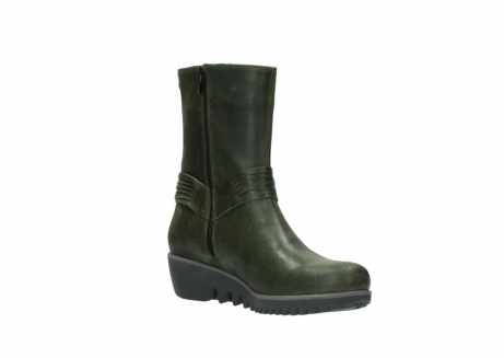 wolky mid calf boots 03823 angel cw 50732 forestgreen leather_16