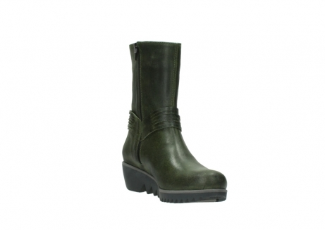 wolky mid calf boots 03823 angel cw 50732 forestgreen leather_17