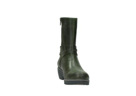 wolky mid calf boots 03823 angel cw 50732 forestgreen leather_18