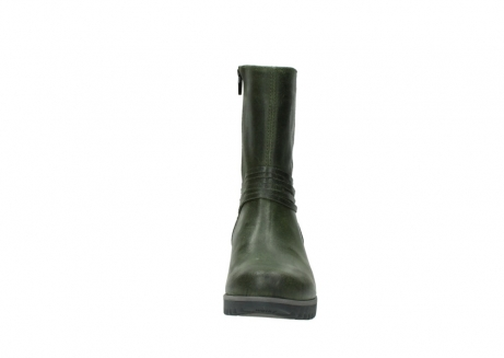 wolky mid calf boots 03823 angel cw 50732 forestgreen leather_19