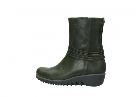 wolky mid calf boots 03823 angel cw 50732 forestgreen leather_2