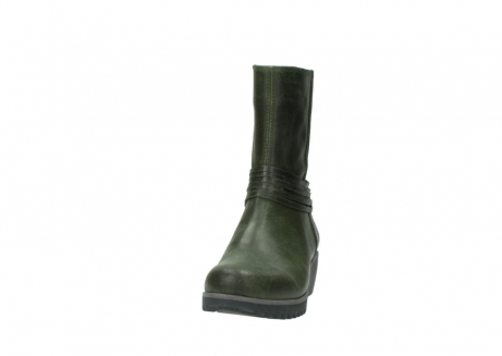wolky mid calf boots 03823 angel cw 50732 forestgreen leather_20