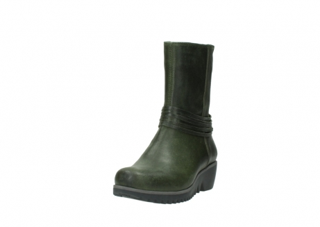wolky mid calf boots 03823 angel cw 50732 forestgreen leather_21