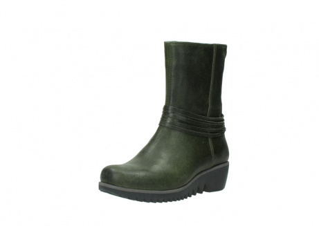 wolky mid calf boots 03823 angel cw 50732 forestgreen leather_22