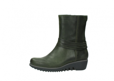 wolky mid calf boots 03823 angel cw 50732 forestgreen leather_24