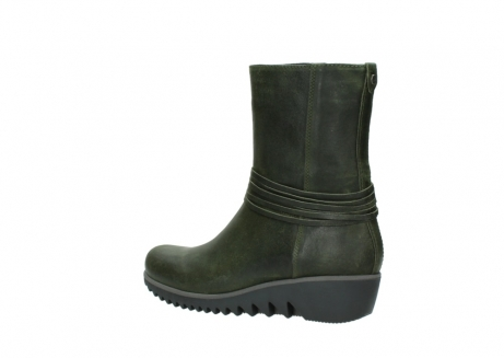 wolky mid calf boots 03823 angel cw 50732 forestgreen leather_3