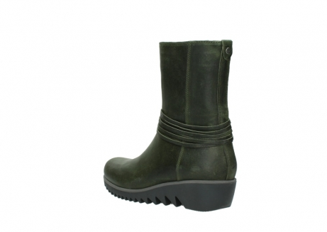 wolky mid calf boots 03823 angel cw 50732 forestgreen leather_4