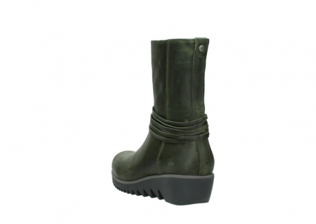 wolky mid calf boots 03823 angel cw 50732 forestgreen leather_5