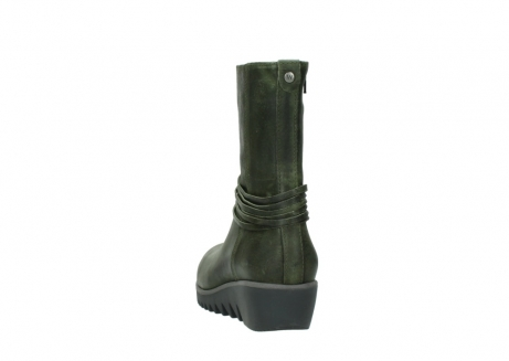 wolky mid calf boots 03823 angel cw 50732 forestgreen leather_6