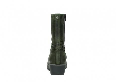 wolky mid calf boots 03823 angel cw 50732 forestgreen leather_7