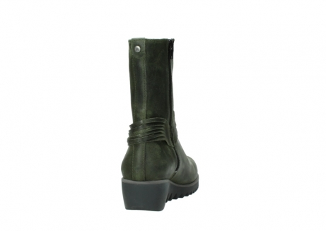 wolky mid calf boots 03823 angel cw 50732 forestgreen leather_8