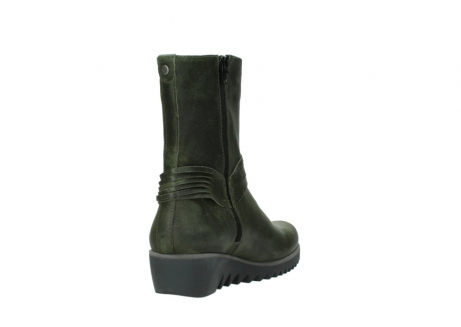 wolky mid calf boots 03823 angel cw 50732 forestgreen leather_9