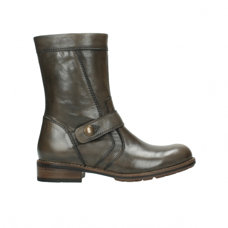 wolky bottes mi hautes 04431 mason 20150 cuir taupe