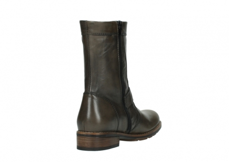 wolky bottes mi hautes 04431 mason 20150 cuir taupe_9
