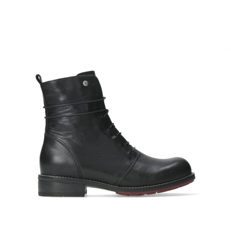 d0b90b8fb278aa Wolky Schuhe 04432 Murray in schwarz Leder bequem online bestellen ...
