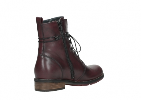 wolky mid calf boots 04432 murray 20510 burgundy leather_10