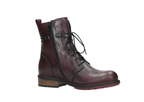 wolky mid calf boots 04432 murray 20510 burgundy leather_15