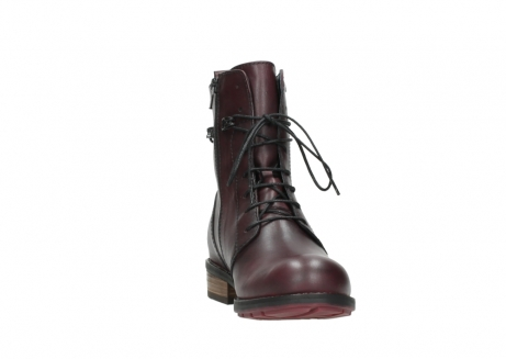 wolky mid calf boots 04432 murray 20510 burgundy leather_18