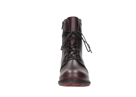 wolky mid calf boots 04432 murray 20510 burgundy leather_19