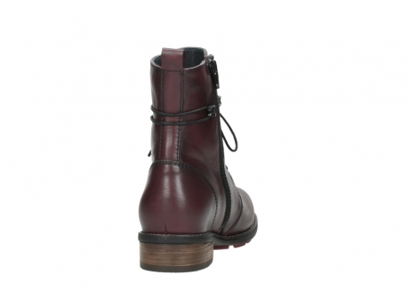 wolky mid calf boots 04432 murray 20510 burgundy leather_8