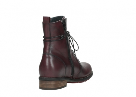 wolky mid calf boots 04432 murray 20510 burgundy leather_9