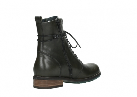 wolky mid calf boots 04432 murray 20730 forest green leather_10