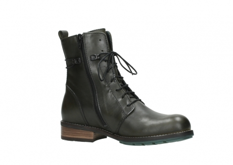 wolky mid calf boots 04432 murray 20730 forest green leather_15