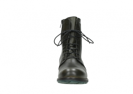 wolky bottes mi hautes 04432 murray 20730 cuir vert_19