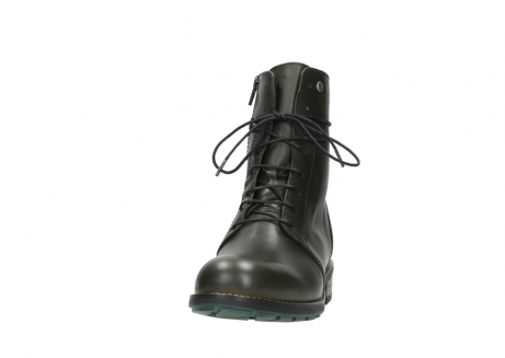 wolky bottes mi hautes 04432 murray 20730 cuir vert_20