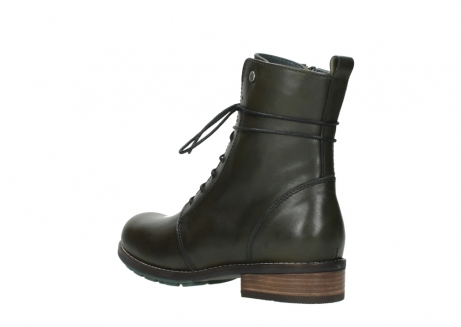 wolky mid calf boots 04432 murray 20730 forest green leather_4