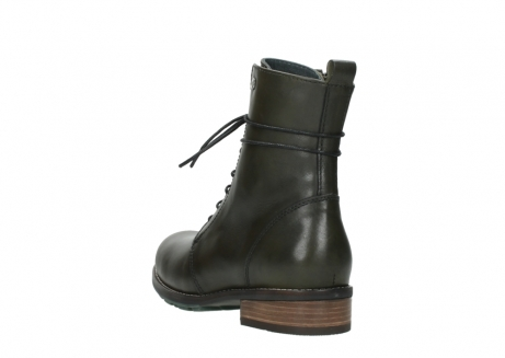 wolky mid calf boots 04432 murray 20730 forest green leather_5
