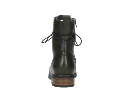 wolky mid calf boots 04432 murray 20730 forest green leather_7