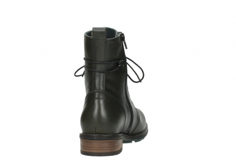 wolky bottes mi hautes 04432 murray 20730 cuir vert_8