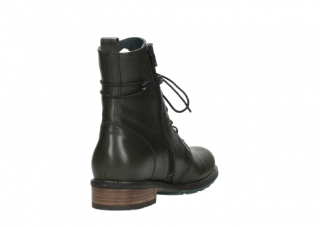 wolky mid calf boots 04432 murray 20730 forest green leather_9