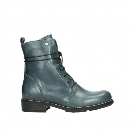 wolky bottes mi hautes 04432 murray 30283 cuir metallise