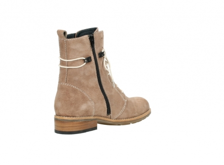 wolky mid calf boots 04432 murray 40620 salmon pink suede_10