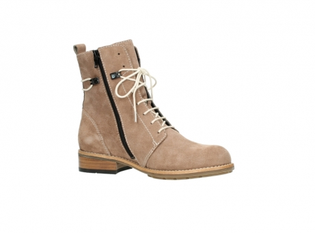 wolky mid calf boots 04432 murray 40620 salmon pink suede_15