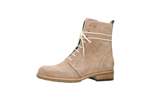 wolky mid calf boots 04432 murray 40620 salmon pink suede_24