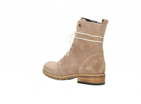 wolky mid calf boots 04432 murray 40620 salmon pink suede_4