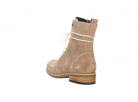 wolky mid calf boots 04432 murray 40620 salmon pink suede_5