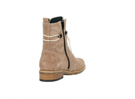 wolky mid calf boots 04432 murray 40620 salmon pink suede_9