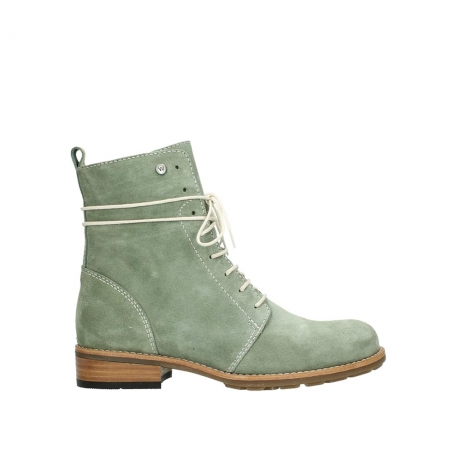 wolky mid calf boots 04432 murray 40700 green suede