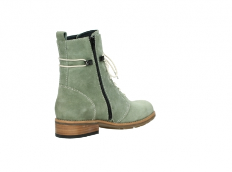 wolky mid calf boots 04432 murray 40700 green suede_10