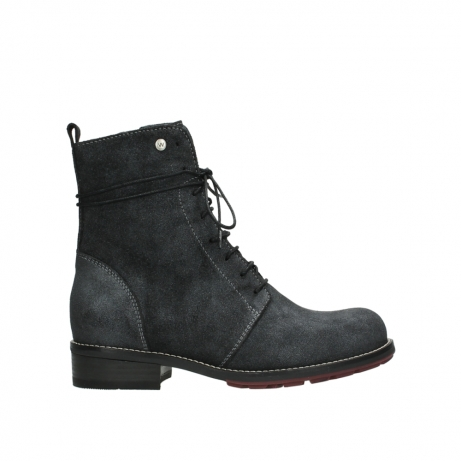 wolky bottes mi hautes 04432 murray 48210 suede anthracite