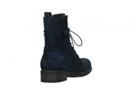 wolky mid calf boots 04432 murray 48800 blue suede_9