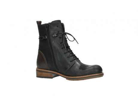 wolky mid calf boots 04432 murray 50300 dark brown olied leather_15